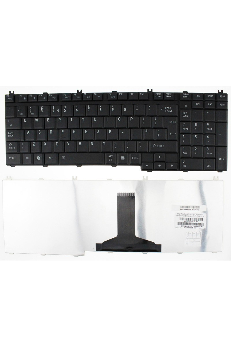 Tastatura laptop Toshiba Satellite A500s